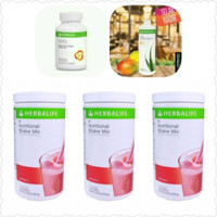 Harga paket herbal herbalif e 3 shake wild berry 1 aloe 1 | antitipu.com