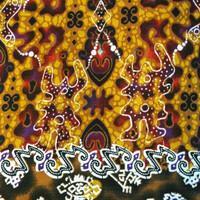 Kain Batik Printing Jogja Katun Motif Bunga Per 0,5 m