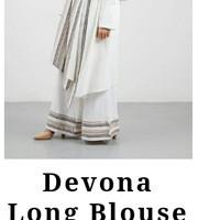 Hijabenka - long blouse white by Havva
