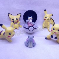 Action Figure Pokemon set Special edition 3