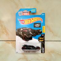 Hot Wheels Batman The Dark Knight Batmobile Red Best For Track US Card