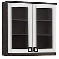 Lemari dapur 2 pintu kaca / kitchen set atas