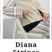 Hijabenka - Diana Stripe Blouse White by Havva
