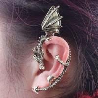 Anting / Hiasan Telinga Berbentuk Naga
