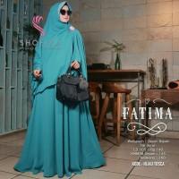 Fatima Syari Dress Muslim Baju Wanita Hijab Gamis Modern Terbaru 2018
