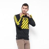 Lemone Tumblr Tee / Kaos Cowo Premium/ Sweater Pria White - Hitam