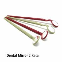 Dental Mirror Kaca Mulut Ganda 2 Kaca OneMed