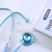 Stetoskop Onemed Standard Blue Full Colour
