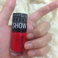 SALE MAYBELLINE NEW YORK COLORSHOW SALE RED CUTEX GLAM DAZZLE MAYBELLI