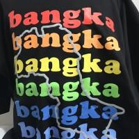 Baju Oleh-oleh Khas Bangka Lengan Pendek