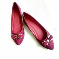 Sepatu Wanita Flat Shoes Cardinal merah model baru murah berkualitas