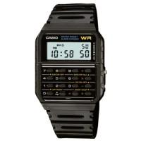 Casio Men's Digital Calculator Black Dial Watch - CA-53W-1Z