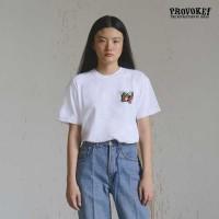 A27615 T-Shirt PROVOKE! - Space Chune - Putih