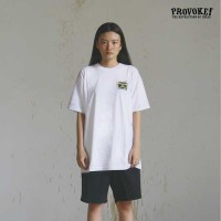 A27603 T-Shirt PROVOKE! - Boombox - Putih