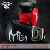 Pretorian Gloves Boxing Sarung Tinju Full Glove Size 10 12 14 Oz Hitam