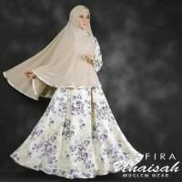 Hijab Modern Karina Syari Set 2in1 Dress Busui dan Jilbab Khim Diskon