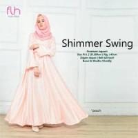 Gamis Pesta Modern Baju Muslim Mewah SHIMMER Dress Kekinian Baru