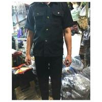 Baju SAFARI SECURITY/ Stelan Safari / Baju Satpam / Safari Pendek