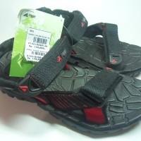 Sandal Gunung Outdoor Adventure Palang hitam REI Black Bug S102