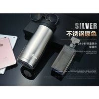 Termos Botol Minum 450 ML Silver