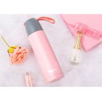 Termos Botol Minum 500 ML Pink 24 Jam Panas
