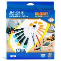 Jakemy 15 in 1 Smartphone Screw Driver Repair Tools Set - JM-9101 JMOT