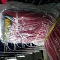 Kursi Susun Futura Original 405 merah. Order khusus PT Glous