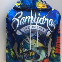 baju Jersey mancing mania bertopi samudra Indonesia