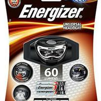 headlamp energizer 3 led 2 in 1 infra red & white led 60 lumens