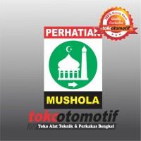 Sticker Safety Sign K3 Mushola