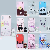 Case Softcase SAMSUNG S8 PLUS Gantungan Boneka Lucu imut FOR STAND HP