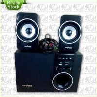 New! Speaker Advance M180Bt Bluetooth Fm Subwoofer System Berkwalitas