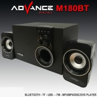 New! Speaker Advance M180Bt Advan Aktif Bluetooth Usb Radio Unik