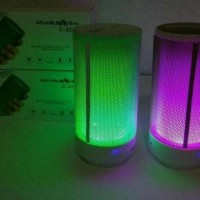 Dijual Speaker Bluetooth C 321 Music Box Musik Audio Lampu Led Disco