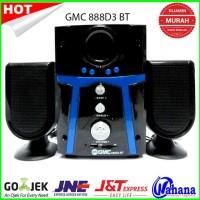 New! Speaker Aktif Gmc 888D3 Bisa Bluetooth Hot