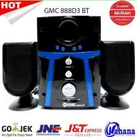 New! Speaker Aktif Gmc 888D3 Bisa Bluetooth Diskon