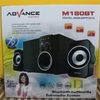 Promo Speaker Advance Portable M180Bt Bluetooth + Radio+ Remote
