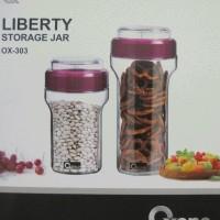 New! Oxone Liberty Storage Jar Ox-303, Toples Kue (Beling), Toples