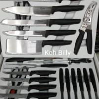 Sale! Oxone Pisau / 24 Pcs Victory Knife Set Ox-631 Berkwalitas
