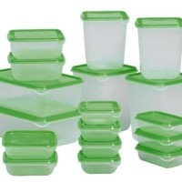 Jual Ikea Kontainer Makanan 1Set Isi 17Pcs / Pruta Set Isi 17 Pcs Dp06