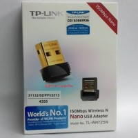 Promo Tp-Link Tl-Wn725N 150 Mbps Wireless N Nano Usb Adapter Diskon