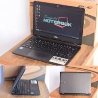Netbook/Notebook/Laptop Bekas Acer ES1-111 Mulus Segel Lengkap Dosbook