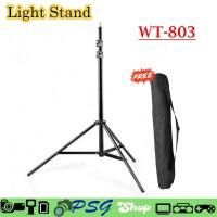 Light Stand WT-803 - Dudukan lampu - Kaki lampu studio - tripod lampu
