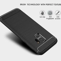 Softcase Samsung Galaxy S9 Slim Fit IPAKY Carbon Fiber