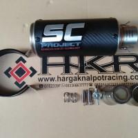 Knalpot SC Project Carbon Fibers Import CBR250RR,Ninja250FI,ER6