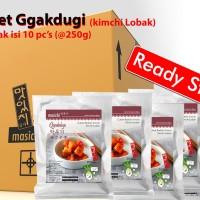 Paket Usaha Kimchi Lobak/Gggakdugi Sekotak 10 Pcs