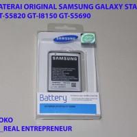 Harga battery baterai batre samsung galaxi star duos wonder gt s5820 gt | Pembandingharga.com