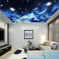Wallpaper Custom Murah - Wallpaper Custom Gambar Langit 3d