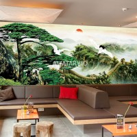 Wallpaper Custom printing - Wallpaper Custom Murah Tema Japanese