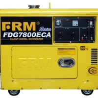 Genset Silent Diesel/Diesel Generator FIRMAN FDG7800ECA